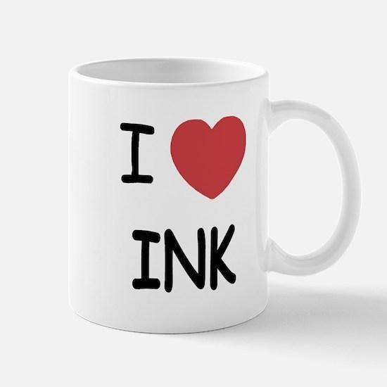 I heart ink Mug
