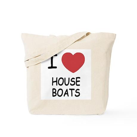 I heart houseboats Tote Bag