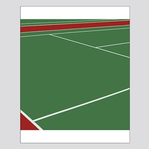 Tennis Court Small Poster