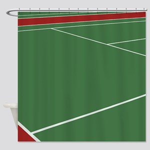 Tennis Court Shower Curtain