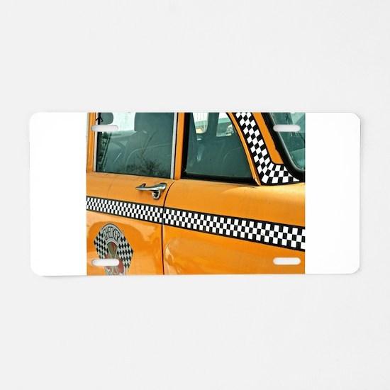 Checker Cab No. 3 Aluminum License Plate