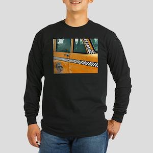 Checker Cab No. 3 Long Sleeve Dark T-Shirt
