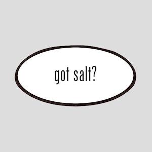 Got salt? Patches