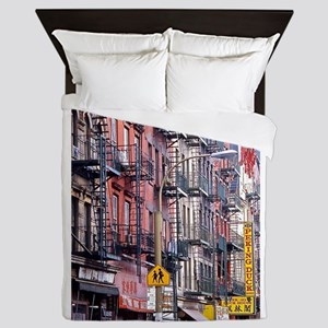 Chinatown: New York City Queen Duvet
