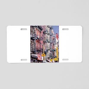 Chinatown: New York City Aluminum License Plate
