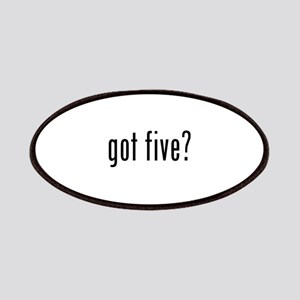 Got five? Patches