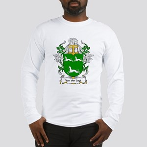 Van der Jagt Coat of Arms Long Sleeve T-Shirt