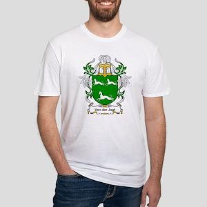 Van der Jagt Coat of Arms Fitted T-Shirt