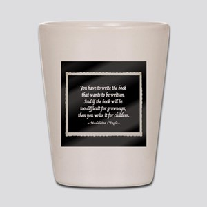 Madeleine L'Engle Shot Glass
