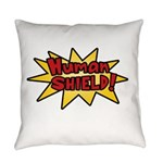 Human Shield Everyday Pillow