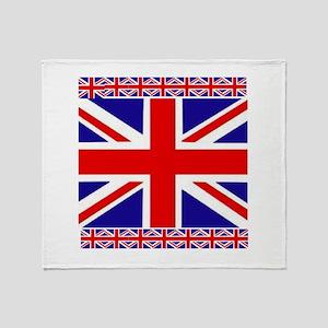 I Love GB Throw Blanket