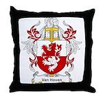 Van Hoven Coat of Arms Throw Pillow