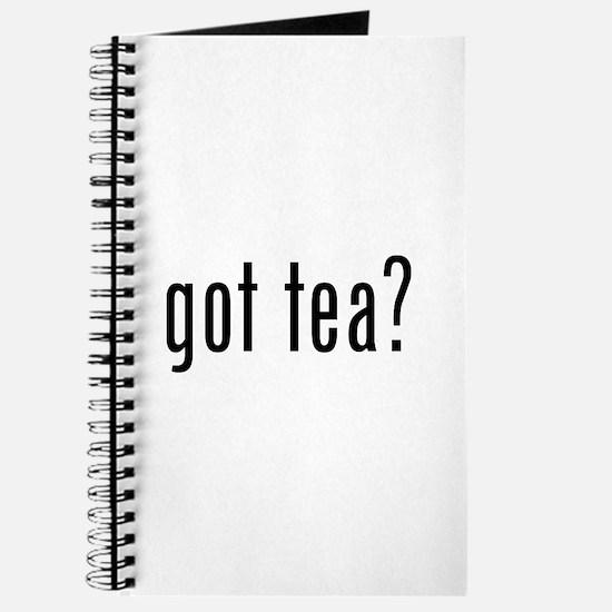Got tea? Journal