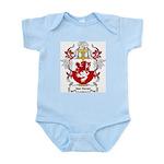 Van Hoven Coat of Arms Infant Creeper