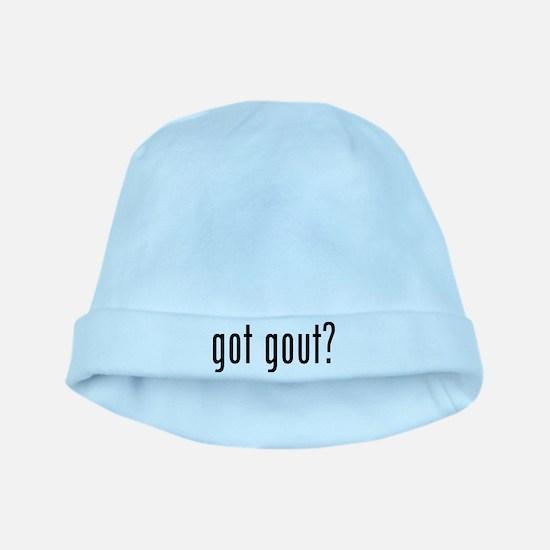 Got gout? baby hat