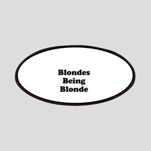 Blondes Being Blonde Patches
