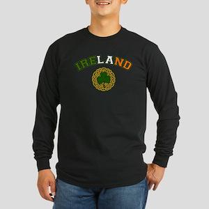 Ireland Collegic Long Sleeve Dark T-Shirt