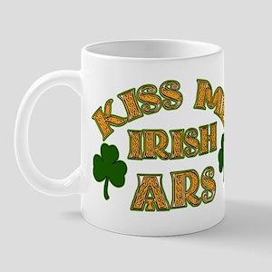 Kiss Me Irish Ars! Mug