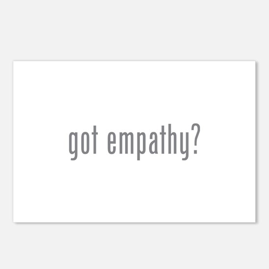Got empathy? Postcards (Package of 8)