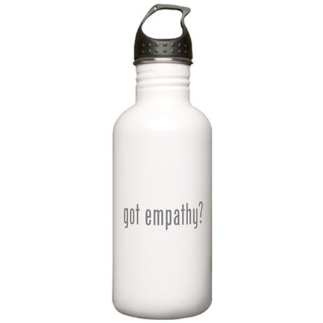 Got empathy? Stainless Water Bottle 1.0L