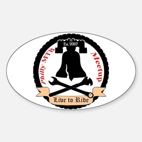 Cool Meetup Sticker (Oval)