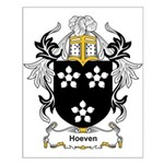 Hoeven Coat of Arms Small Poster