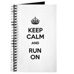 Keep Calm and Run On Journal