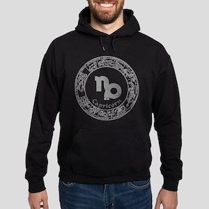 Capricorn Zodiac sign Hoodie (dark)