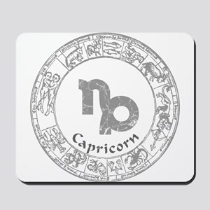 Capricorn Zodiac sign Mousepad