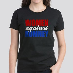 Women Against Romney Women's Dark T-Shirt