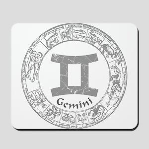 Gemini Zodiac sign Mousepad