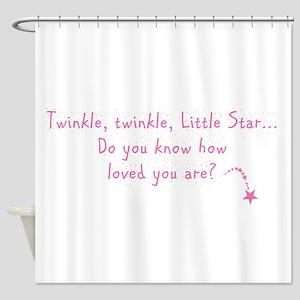 Twinkle Twinkle Little Star P Shower Curtain