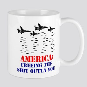 America Freeing You Mug