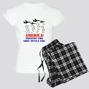 America Freeing You Women's Light Pajamas