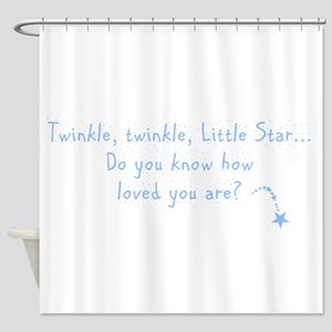 Twinkle Twinkle Little Star B Shower Curtain
