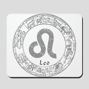Leo Zodiac sign Mousepad