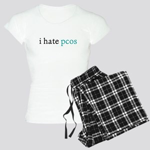 i hate pcos Women's Light Pajamas