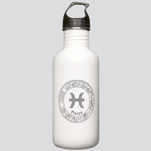 Pisces Zodiac sign Stainless Water Bottle 1.0L