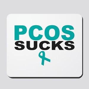 PCOS SUCKS Mousepad