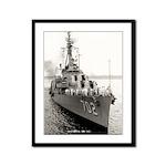 USS HANK Framed Panel Print