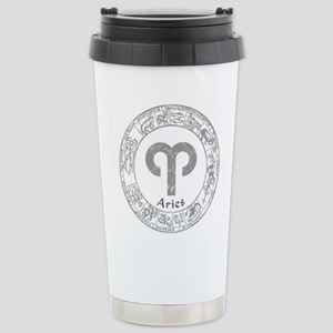 Aries Zodiac sign Stainless Steel Travel Mug