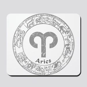 Aries Zodiac sign Mousepad