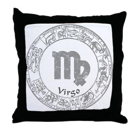 Virgo Zodiac sign Throw Pillow