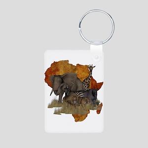 Safari Aluminum Photo Keychain