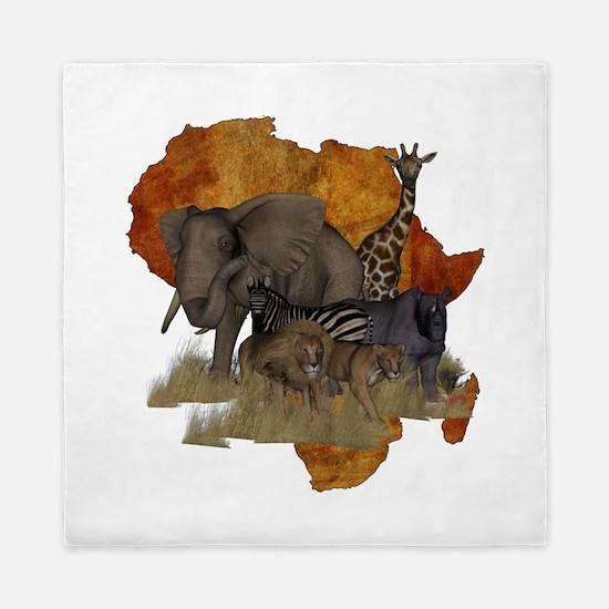 Safari Queen Duvet