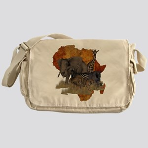 Safari Messenger Bag