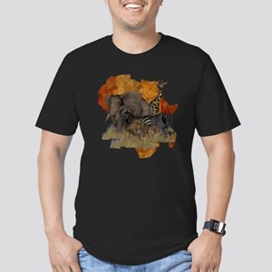 Safari Men's Fitted T-Shirt (dark)