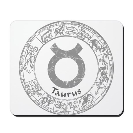 Taurus Zodiac sign Mousepad