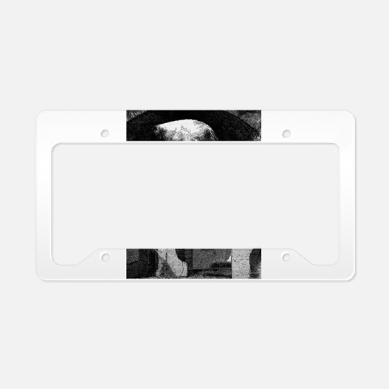 Into The Darkness License Plate Holder