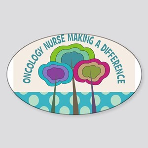Nurses Sticker (Oval)